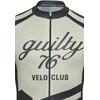 guilty 76 racing Velo Club Pro Race Koszulka kolarska Mężczyźni szary